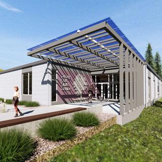 Columbia Gorge Community College Treaty Oak Skills Center, The Dalles, OR