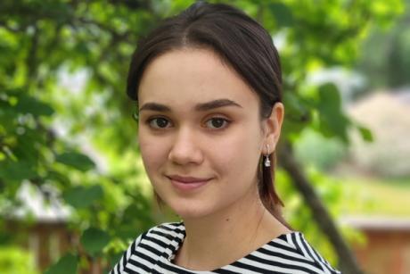 Yuliya Pruzhanskaya, recipient of 2021 PCS STEM Scholarship