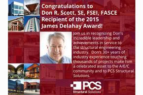 Don Scott - NCSEA James Delahay Award