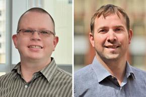 Wes Neeley and Kyle Murdock associate principals